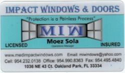 Mediteranean Impact Windows Logo