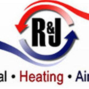 R & J Electrical Heating and Air Conditioning Logo