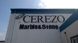 Cerezo Marble & Tile Logo