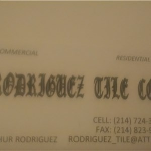 Rodriguez Tile Company Cover Photo