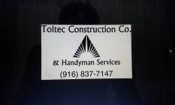 Toltec Construction Co. Inc. Logo