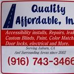 Quality Affordable Logo