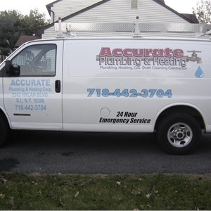 Accurate Plumbing & Heating Logo