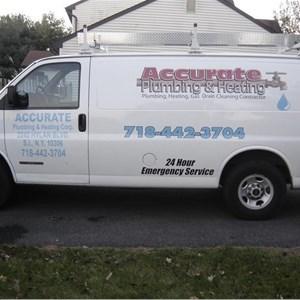 Accurate Plumbing & Heating Logo