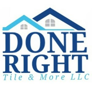 Done Right Tile & More LLC Logo
