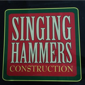 Singing Hammers Construction Logo