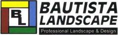 Bautista Landscape Logo