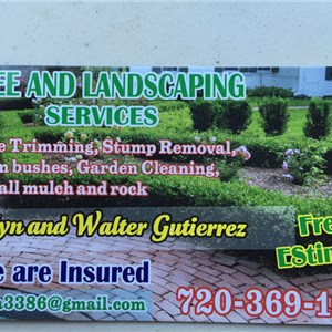 Tree and Landscaping Services Logo
