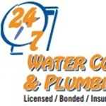 24 7 Water Conditioning & Plumbing Logo