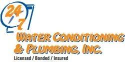 24 7 Water Conditioning & Plumbing Logo