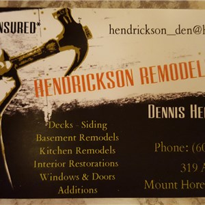 Hendrickson Remodeling Cover Photo