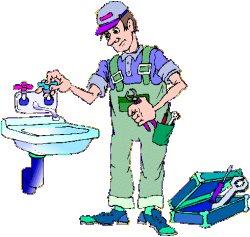 Laszlos Plumbing Logo