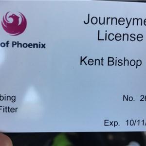 Kent Bishop Fine Plumbing Logo