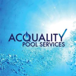 Acquality Pool Services Logo
