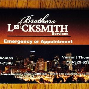 Brothers Locksmith Services (We Do Not Make Car Keys) Logo