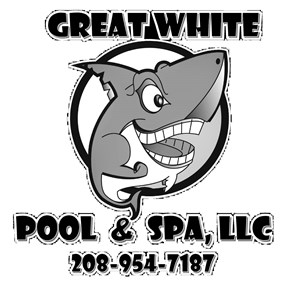 Great White Pool And Spa Logo