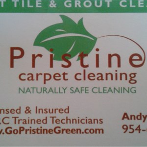 Pristine Carpet Cleaning Logo