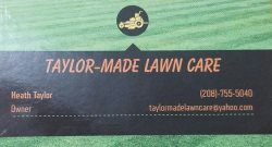 Taylor Made Lawn Care Logo