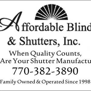 Affordable Blinds & Shutters, Inc. Logo