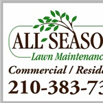 All Seasons Lawn Maintenance Logo