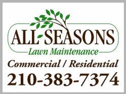 All Seasons Lawn Maintenance Logo