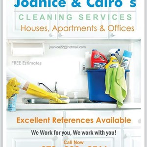 Joanice & Cairos Cleaning Services Logo
