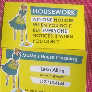 Memes house cleaning Logo
