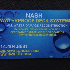 Nash Deck Coatings And Re-construction Logo