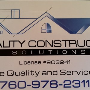 Quality Construction Solutions Logo