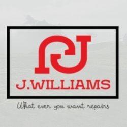 J.williams What Ever You Want Repairs Logo