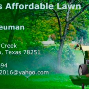 Bryans Affordable Lawn Care Logo