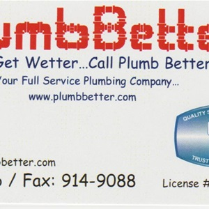 Plumb Better Cover Photo