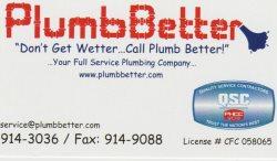 Plumb Better Logo