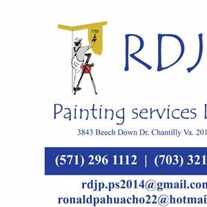 Rdjp Painting Services Logo