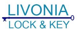 Livonia Lock & Key Logo