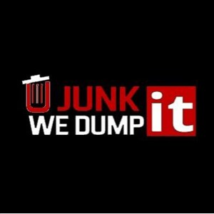 U Junk It We Dump It Logo