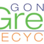 Gone Green Recycling Logo