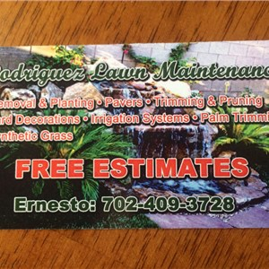 Rodriguez Lawn Maintenance Cover Photo