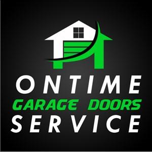 Ontime Garage Doors Service Logo