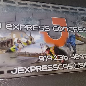 J Express Concrete , INC Logo