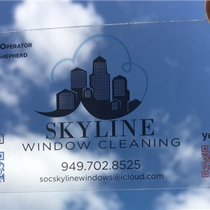 Skyline Window Cleaning Logo