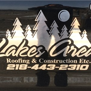 Lakes Area Roofing & Construction Logo