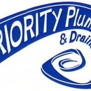 Priority Plumbing and Drains Logo