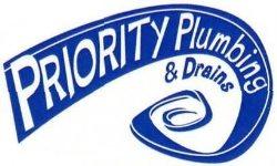 Priority Plumbing and Drains Logo