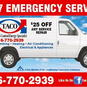 T.a.co. Service Dept. Logo