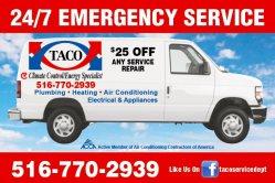 TACO Service Dept. Logo