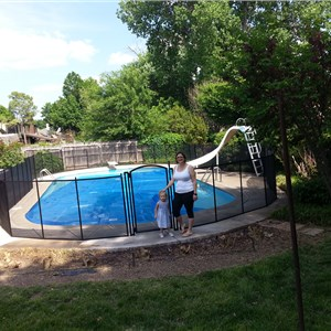 Life Saver Pool Fence Cover Photo