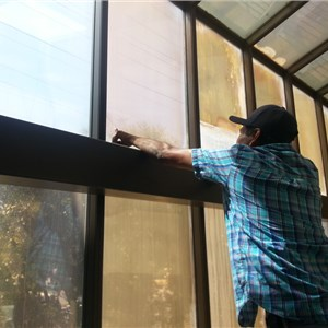 zero smudges window cleaning dba real clean pro. Logo