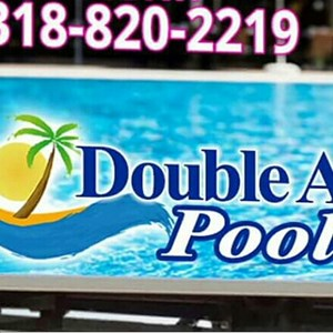 Double A Pools Logo