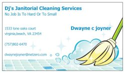 Djs Janitorial Cleaning Services Logo